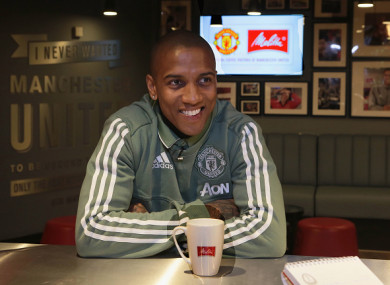 Young believes United can catch leaders City, who are 16 points ahead.