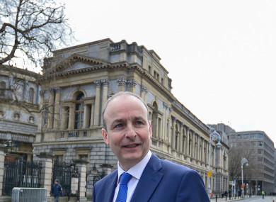 Fianna Fáil leader Micheál Martin