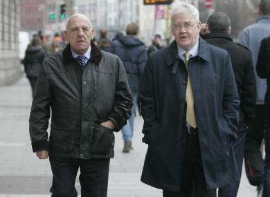 Kevin Hannaway and Francis McGuigan claim they were subjected to torture by British authorities in Northern Ireland in the 1970s.