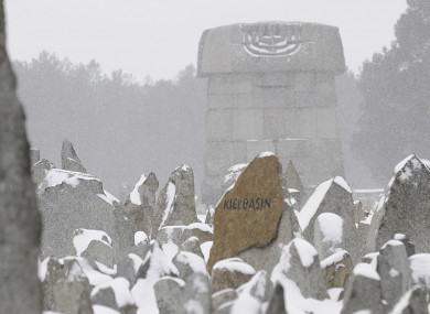 Memorial on the grounds of the former German Nazi Death Camp Treblinka, near the village of Treblinka, northeast Poland