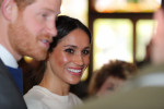 Prince Harry and Meghan Markle ate stew and drank Guinness during their visit to a Belfast pub this morning