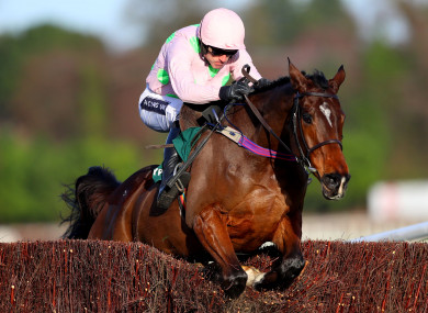 Altior may be the favourite, but all Irish eyes will be on Douvan.