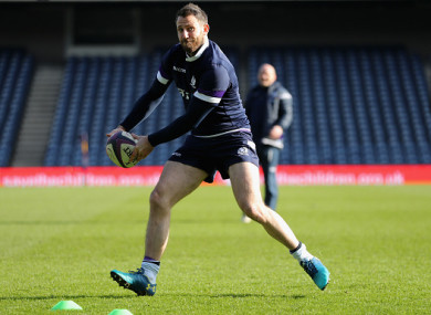 Tommy Seymour returns for Scotland.