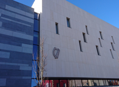 Limerick's new courthouse, where today's judgement was delivered.