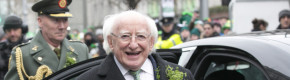 Just 9 pictures of Michael D. Higgins having a ball on St. Patrick's Day