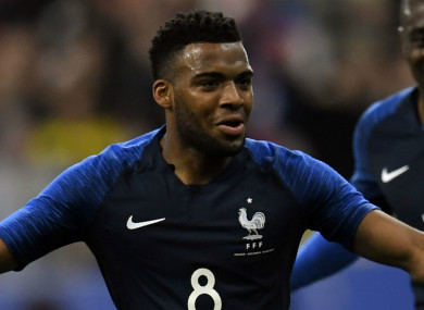 The 22-year-old has nine caps for France.