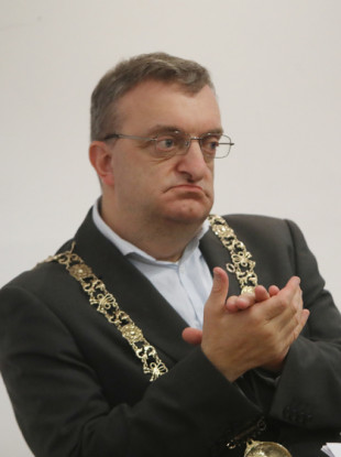 Lord Mayor of Dublin Mícheál Mac Donncha.