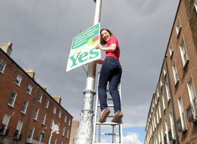 The official Together For Yes campaign posters