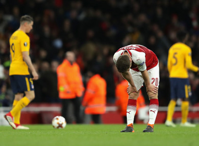 Arsenal shot themselves in the foot after dominating the first leg.