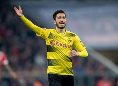 Sahin plies his trade at Dortmund.