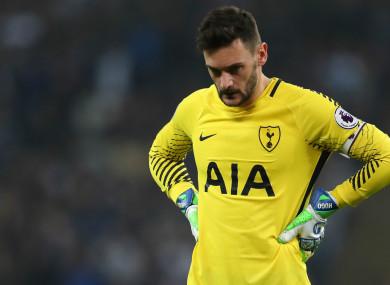 Tottenham goalkeeper Hugo Lloris.