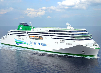The new WB Yeats ferry is not expected to be ready on time.