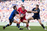 Sexton on Larmour: 'He backs himself... he backed himself against 10 Scarlets on the short side'