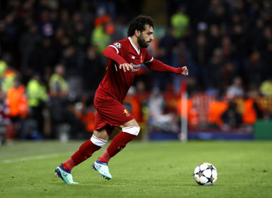 Mo Salah has scored 43 goals in all competitions this season.