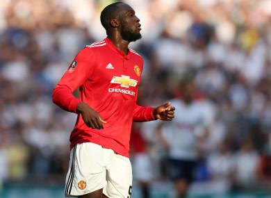 Manchester United star Romelu Lukaku