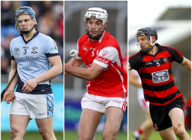 Michael Casey, Darragh O'Connell and Philip Mahony were all honoured.