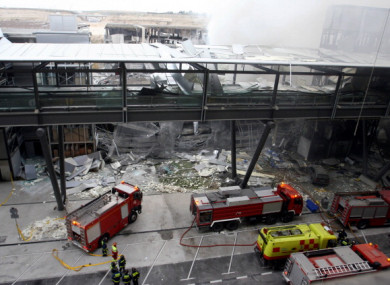 Two people died in the 2006 bombing on Madrid-Barajas airport, claimed by ETA.