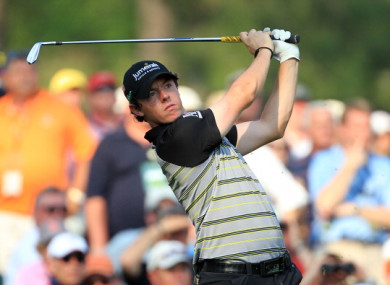 Rory McIlroy suffered a dramatic collapse at the 2011 Masters.