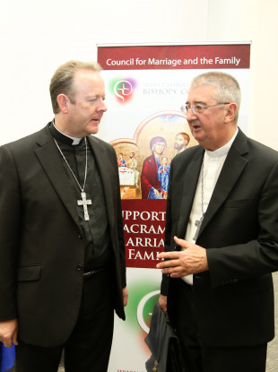 Archbishop Eamon Martin (left) and Archbishop Diarmuid Martin.