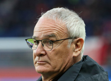 Claudio Ranieri while in charge of Nantes