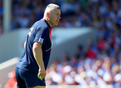 Cork All-Ireland hurling winner Diarmuid O'Sullivan.