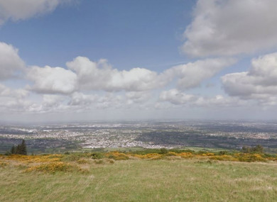 View from Montpelier Hill, Dublin