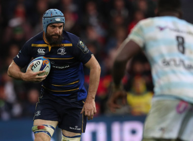 Fardy was instrumental in Leinster's Champions Cup victory.