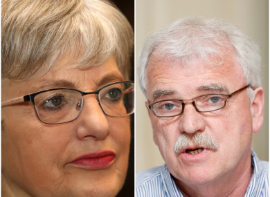 Ministers Katherine Zappone and Finian McGrath