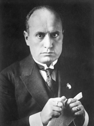 Another Benito Mussolini came to power in Italy in the 1920s