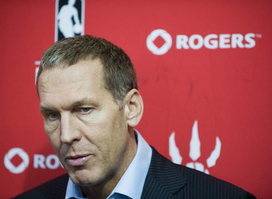Bryan Colangelo during his time with the Raptors.