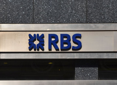 A branch of Royal Bank Of Scotland pictured in London this week.