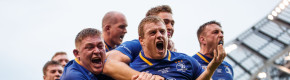 Sexton sensational as Leinster smash Scarlets to secure historic double