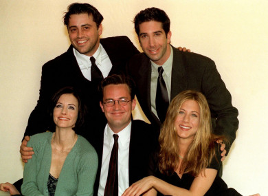 The Friends gang (except Lisa Kudrow)
