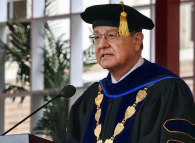 USC President C.L. Max Nikias.