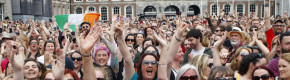 It's Yes: Ireland has voted to repeal the Eighth Amendment