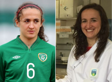 Gorman made her senior Ireland debut in 2011 and recently graduated medicine at UCD.