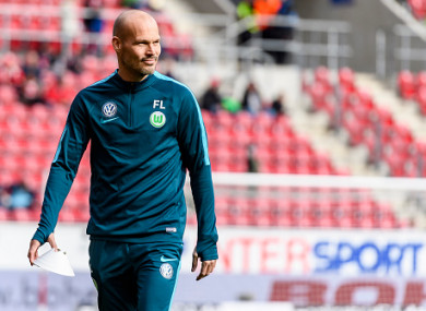 Ljungberg spent last season with Wolfsburg.