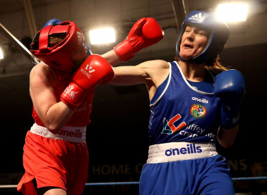 kelly vice championne boxing