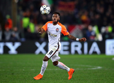Fred has impressed for Shakhtar during his five seasons in Ukraine.