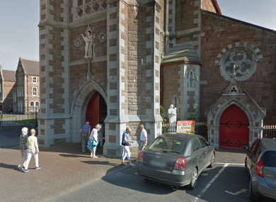 The entrance to St John's Church in Tralee.