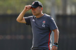 Struggling England under scrutiny but Eddie Jones is 'absolutely loving it'