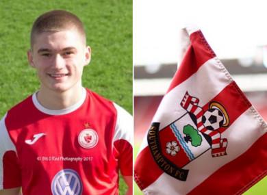 Keogh will move to Southampton from Sligo Rovers.
