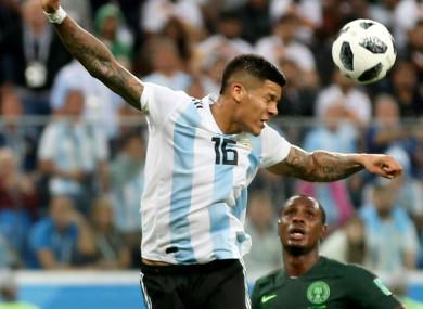Nigeria felt they should have had a second-half spot kick.