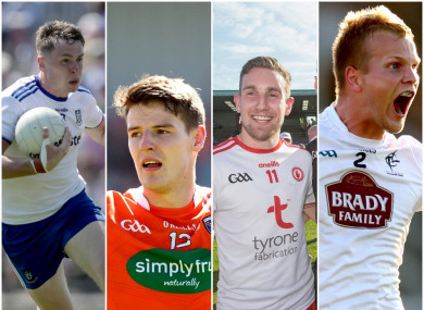 Monaghan, Armagh, Tyrone and Kildare all triumphed this evening.