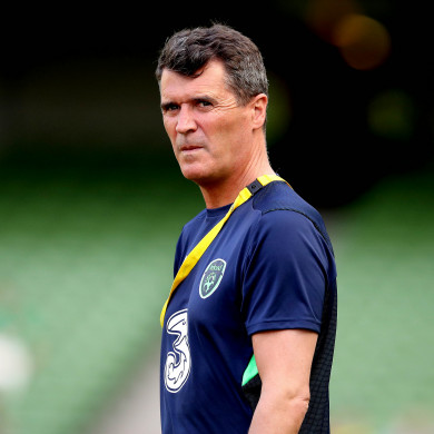 Roy Keane is currently Ireland assistant boss.