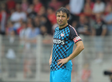 Van Bommel during his playing days at PSV.