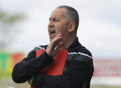 Carlow football manager Turlough O'Brien.