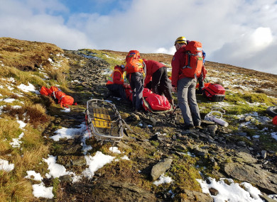 Glen of Imaal Red Cross Mountain Rescue Team