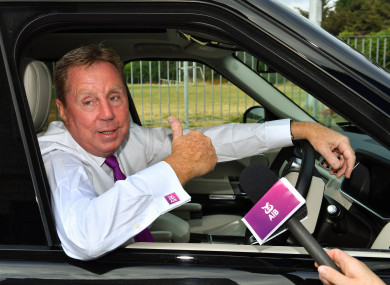 Harry Redknapp was in Dublin to launch AIB's The Toughest Rivalry.