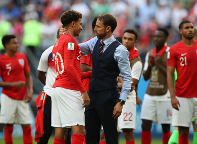 England were beaten in the third-place play-off yesterday.
